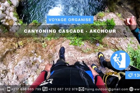 VOYAGE ORGANISÉ – Canyoning Cascade > AKCHOUR VOYAGE ORGANISE CANYONING CASCADE AKCHOUR 531x354  PARACHUTISME VOYAGE ORGANISE CANYONING CASCADE AKCHOUR 531x354