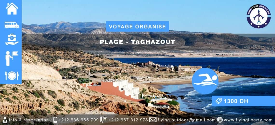 VOYAGE ORGANISE – Plage > TAGHAZOUT